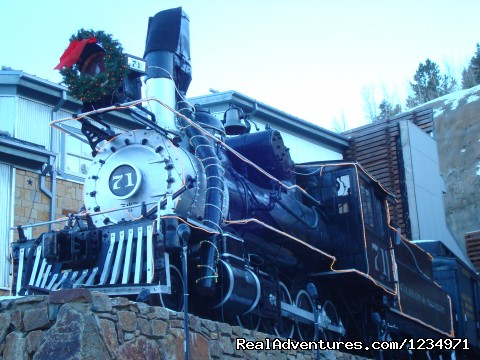 Old Train In Central City - Victorian Retreat In Historic Town:  Mtn View