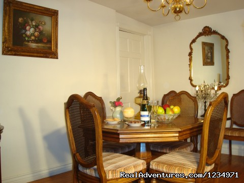 Elegant Dining Room - Victorian Retreat In Historic Town:  Mtn View