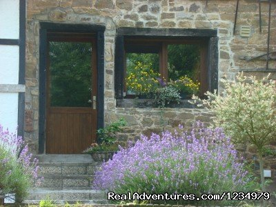 La Chambre Lavander from outside | Image #10/20 | Peaceful Secluded Getaway at L Etang du Wayot