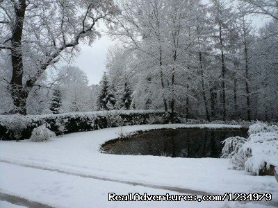 Winter in the gardens | Image #14/20 | Peaceful Secluded Getaway at L Etang du Wayot