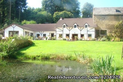 Peaceful Secluded Getaway at L Etang du Wayot: L' Etang du Wayot House & Gardens