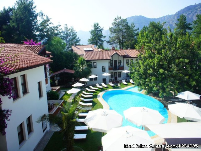 Pool View - Discover The Jewel of Gocek....
