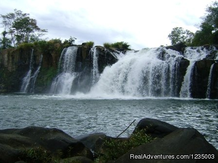 Tour strat from your Hotel then drive to Southern east of Pakse Nearby to visit 3 waterfall on the Boloven Plateau  Tad Fan waterfall, Tad Yeung Waterfall and Tad Phasuam waterfall before visit tea and Coffee plantation to tasty their coffee shop ...