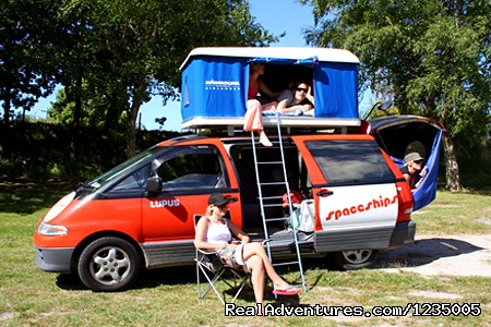 Spaceships Campervan Rental - Campervan Hire Australia - Compare and Save