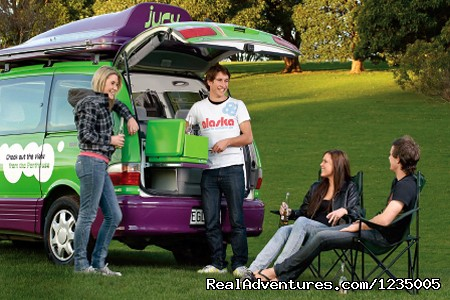 Jucy Campervan Hire Australia - Campervan Hire Australia - Compare and Save