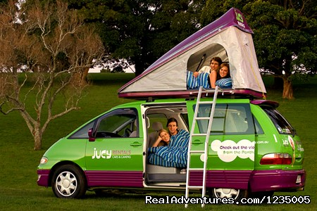 Jucy 4 Berth Choppa Campervan (#5 of 6) - Campervan Hire Australia - Compare and Save