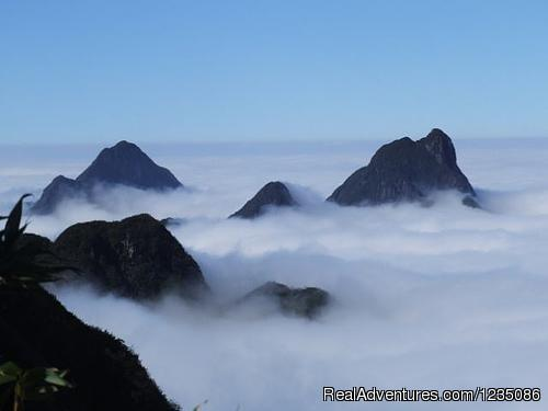 Conquer Mount Fansipan, the roof of indochina Hiking & Trekking Hanoi, Viet Nam