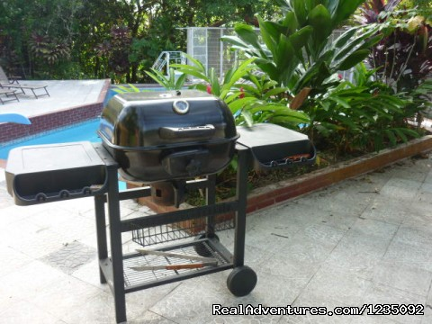 BBQ by the pool.... - Casa Las Cumbres Panama Bed and Breakfast