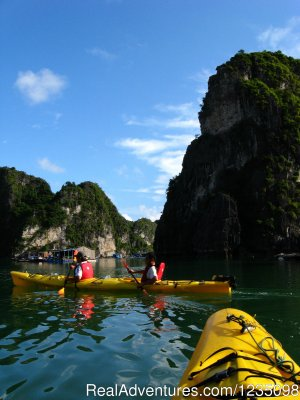 Real Kayaking Halong Bay 3 days Hanoi, Viet Nam Kayaking & Canoeing