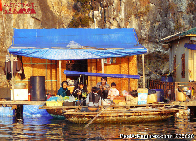 Van Chai Floating village Halong Bay - Real Kayaking Halong Bay 3 days