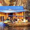Van Chai Floating village Halong Bay