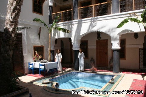 Breakfast area - Romantic stay at  Riad Zanzibar