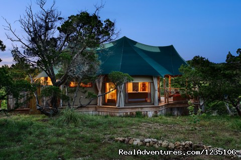 Sinya at dusk. - Fall in love all over again...Glamping at Sinya