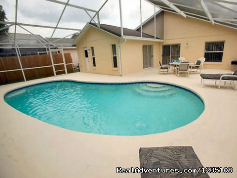 Large Pool - Florida Villa In Kissimmee 3Bed Windward Cay