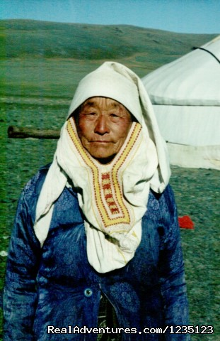 Kazakh woman - Gobi Expeditions Mongolia
