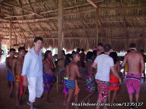 Dancing! - Visit to an authentic Indian Village