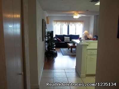 Unit Entranceway. - Dream Vacation Ocean Side Condo, Daytona Beach