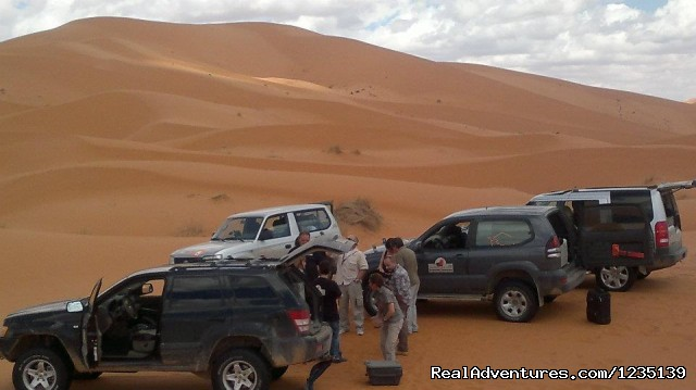 Dune dell Erg-Chebbi a Merzouga - Sahara Dream Tours