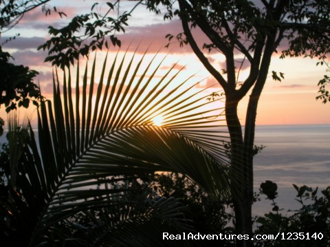 SUNSET  IN PARADISE. Near the Pool. (#6 of 21) - NATURE'S PARADISE: Amazing Views, Eco-Adventures