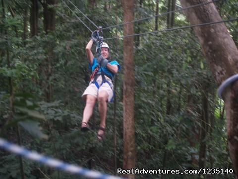 RAINFOREST ZIPLINE. See the Rainforest from the Top. (#16 of 21) - NATURE'S PARADISE: Amazing Views, Eco-Adventures