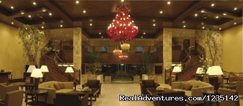 Hotel Lobby Lounge - MÖvenpick Al Bidaa offers the best rates in Kuwai
