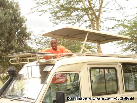 Safari Jeep - Masai Mara Luxury Safari