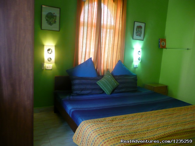 Beautifully done up bedroom - Fun Holidays Goa- AC 1 BHKs in a Resort, Calangute