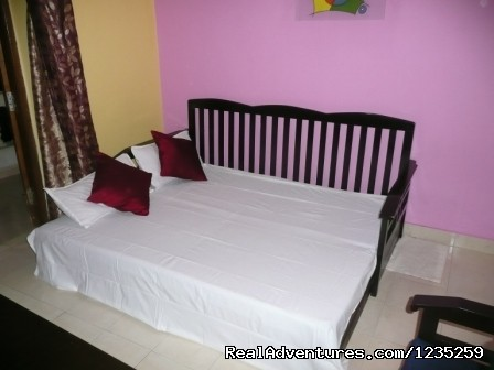 Sofa Bed - Fun Holidays Goa- AC 1 BHKs in a Resort, Calangute