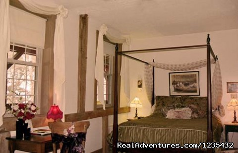 The Barn Inn Bed and Breakfast, Rose Garden Room - Romantic Barn Inn Bed and Breakfast