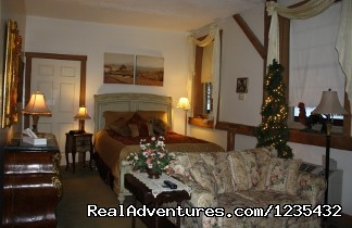 The Barn Inn Bed and Breakfast, French Country Room - Romantic Barn Inn Bed and Breakfast