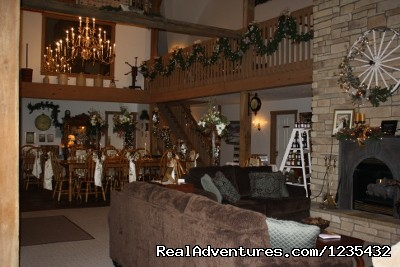 The Barn Inn Bed and Breakfast, Common Room Holiday - Romantic Barn Inn Bed and Breakfast