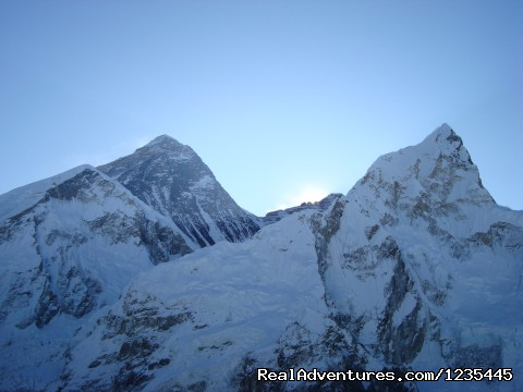 Everest Base Camp Trek: View of Mt. Everest