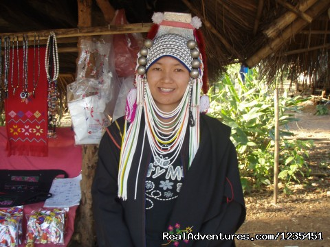 One of the Thai Tribe traditional costumes - THE Rainforest Retreat Experience in Thailand
