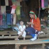 Mother and Child in Long Neck Village