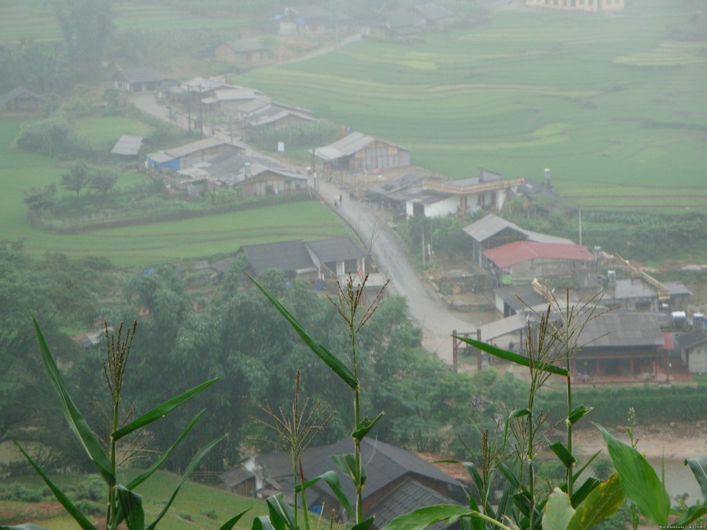 Sapa town from height | Image #4/16 | Sapa adventure 2 days 1 night by bus
