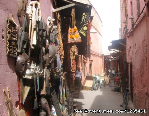 Streets of Marrakrech - Real Morocco Tours