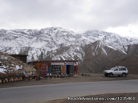 Snow in the High Atlas mountains. (#14 of 26) - Real Morocco Tours