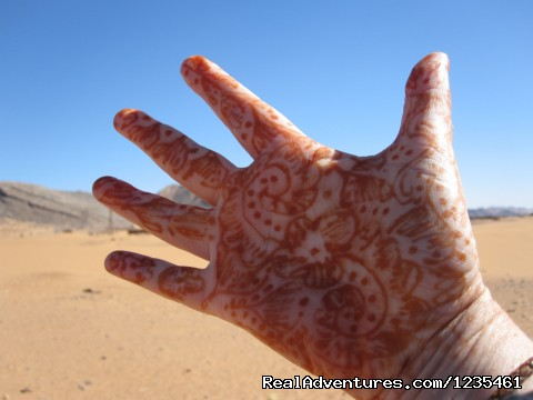 Traditional Henna Hand Decoration (#21 of 26) - Real Morocco Tours