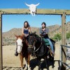 Dinner trail rides to a great Mexican Resturant acton, California Horseback Riding