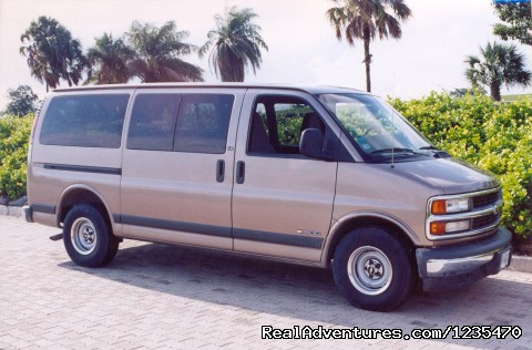 express van - Puerto Vallarta Tours Guide