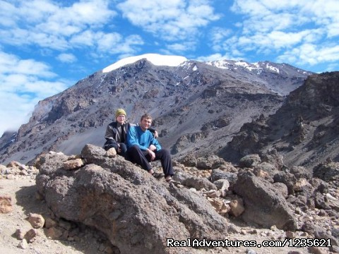 Adventure travel climbing Kilimanjaro trips