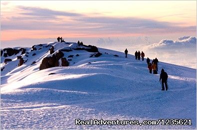Kilimanjaro climbing travel packages - Adventure travel climbing Kilimanjaro trips