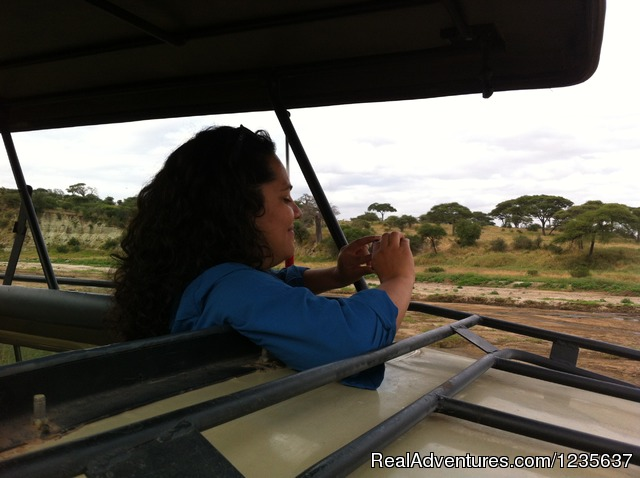 Client enjoying in a Safaris (#3 of 12) - Dream 2 Realities Travel- African Safaris