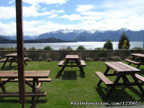 Garden CAfe - New Zealand's  lakeview Accomodation Manapouri