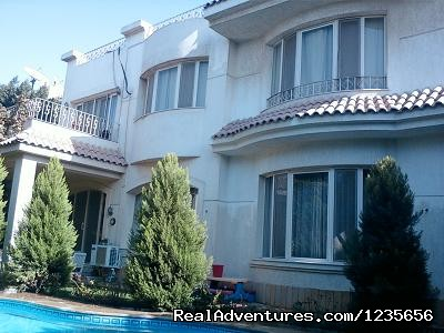 - villa with pool for rent furnished in Egypt