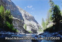 Middle  - Whitewater Rafting in Idaho, Montana & Alaska