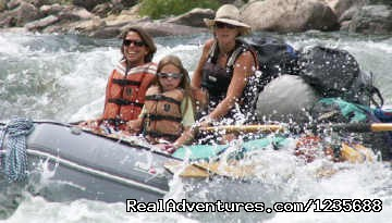 Whitewater Rafting in Idaho, Montana & Alaska