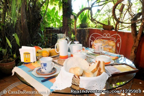 Breakfast - Casa da Renata Bed & Breakfast