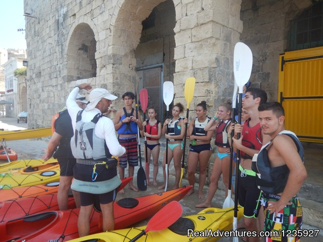 Kayaking - English Courses in your Teacher's Home by the Sea