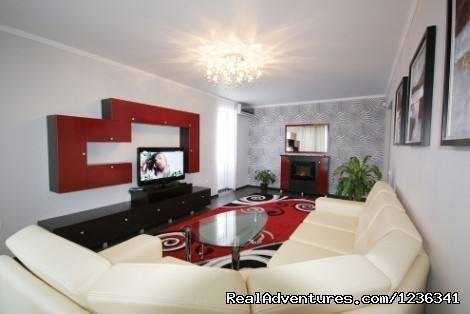 Luxury 3 rooms apartment in Chisinau VIP Accommodation Chisinau